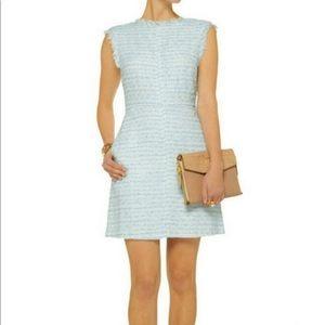 NWT Alice + Olivia Grisel Tweed Dress